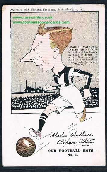 1922 Wallace Oldham Palace FF pc